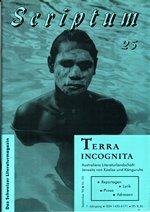 Literaturzeitschrift SCRIPTUM Nr. 25 - Cover