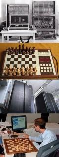 Von Konrad Zuses «Z3»-Maschine über den Tischcomputer-Veteran «ChessChallenger» und den Kasparow-Bezwinger «Deep Blue» bis hin zur modern-handlichen Spitzen-Software: Die Computerschach-Geschichte ist ebenso wechselhaft wie faszinierend.