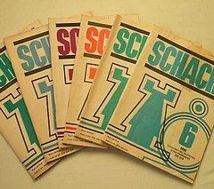 Propaganda-Träger der sozialistischen Schach-Politik: Die ab 1953 einzige in der DDR herausgegebene Schachzeitschrift «Schach»