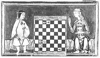 Schach-Studien kennt die Welt schon seit alters her; hier ein Detail aus dem «Buch der Spiele» von König Alfons dem Weisen (13. Jh.)