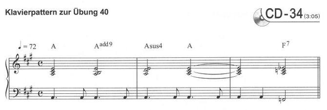 Leseprobe 4 aus Martina Freytag: Einsingen (Beispiel von Klavierpattern zu den Übungen)
