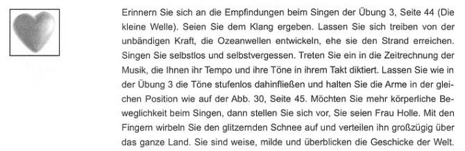 """Leseprobe 3 aus Martina Freytag: Einsingen (""""Singen Sie selbstlos und selbstvergessen!"""")"""