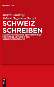 Schweiz schreiben - Anthologie - Glarean Magazin