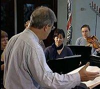 Dirigent Gardiner bei einer seiner