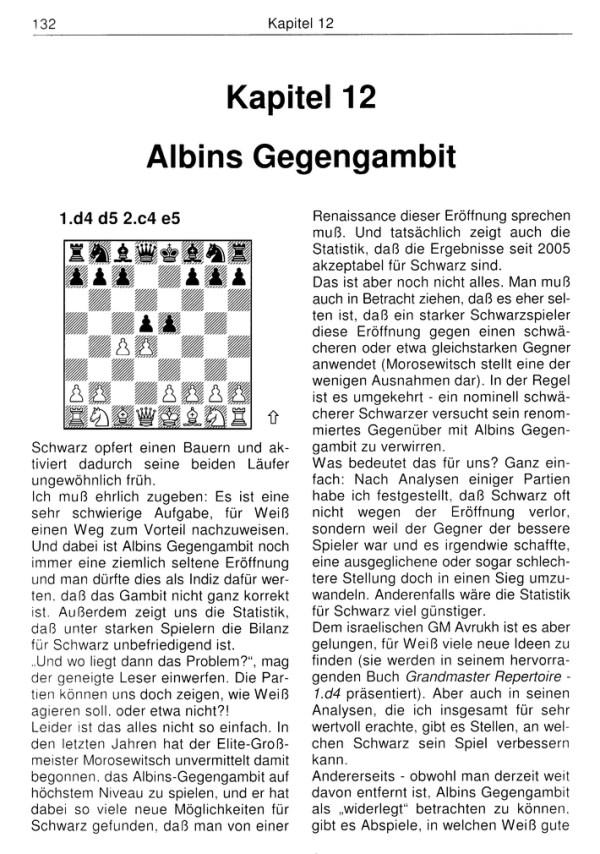 Valeri Bronznik: 1.d4 - Ratgeber gegen Unorthodoxe Verteidigungen (Probeseite)