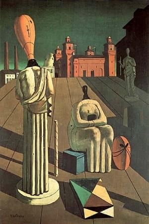 "Giorgio de Chirico: ""Die beunruhigenden Musen"""