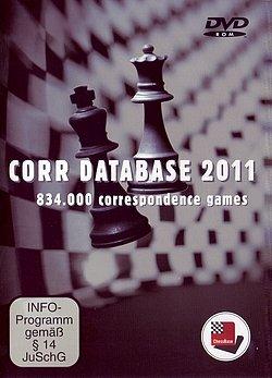 Die Corr Database 2011 mit 834'000 Fernschach-Partien