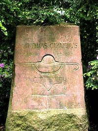 Der Claudius-Gedenkstein im
