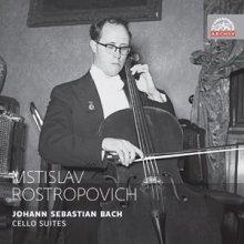 Mstislaw L. Rostropowitsch - Johann Sebastian Bach - Cello-Suiten - Supraphon Archiv
