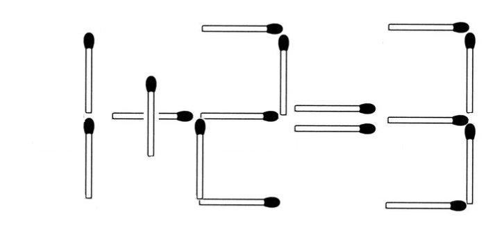 Das neue Streichholzrätsel (Januar 2015)