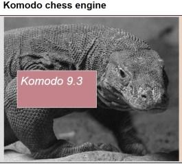 Eines der führenden Schachprogramme der Welt: Komodo