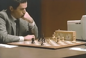 Schach Kasparov vs Deep Throught - Chess Men vs Computer - Glarean Magazin