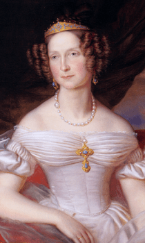 Sorgte in Weimar für Aufsehen und Aufregung: Die russische Grossfürstin Anna Pawlowna