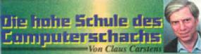 """Mit diesem Banner in der vor Jahrzehnten weitverbreiteten deutschen Schach-Gazette """"Rochade Europa"""" kündigte der Anti-Computerschach-Experte """"Claus Carstens"""" (Pseudonym) jeweils seine Kolumne an, in der er genüsslich die damals führenden Schachprogramme dem öffentlichen Gelächter preisgab."""
