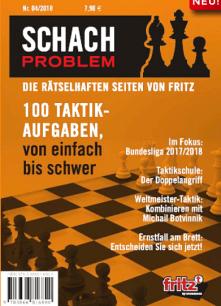 Chessbase Schach-Problem Heft Nummer 4 - Taktik-Aufgaben - Glarean Magazin