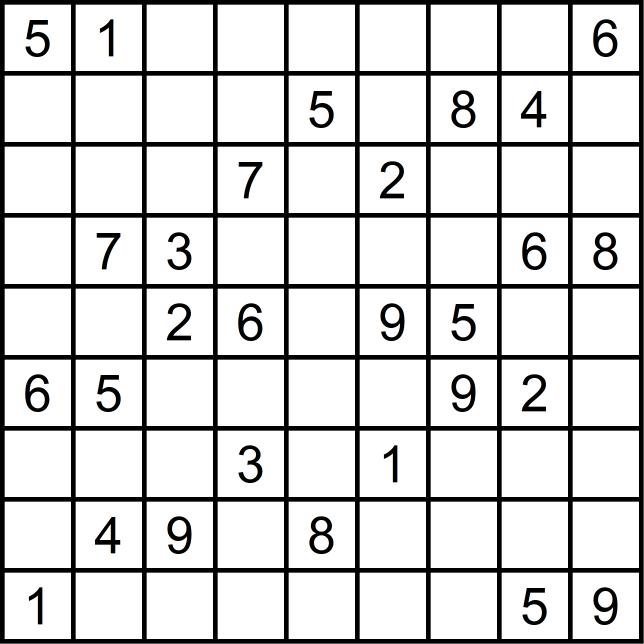 Sudoku schwierig - März 2019 Glarean Magazin