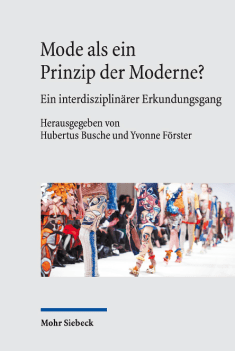 Mode als Prinzip der Moderne - Cover - Rezension Glarean Magazin