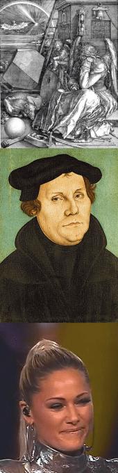 """Reise durch die deutsche Seelen-Landschaft von Albrecht Dürer (""""Melancholia"""") - über Martin Luther (""""Eine fest Burg ist unser Gott"""") bis zu Helene Fischer (""""Atemlos"""")"""