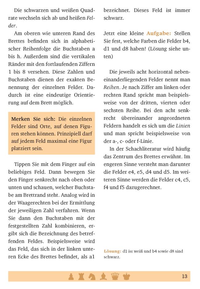 Leseprobe aus Axel Gutjahr: Schach spielen mit Niveau (Anaconda Verlag 2019) Glarean Magazin