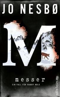 Jo Nesbo - Messer - Ullstein Verlag Cover - Krimi-Literatur-Rezensionen