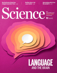 Science Magazine - Language and the brain - Glarean Magazin