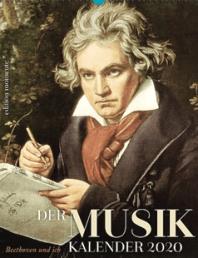 Der Musik-Kalender 2020 - Beethoven und ich - Cover - Glarean Magazin