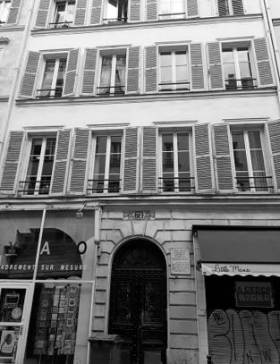 Heinrich Heine - Exil Paris - Rue de Faubourg-Poissonnière 46 (heute 72) - Glarean Magazin