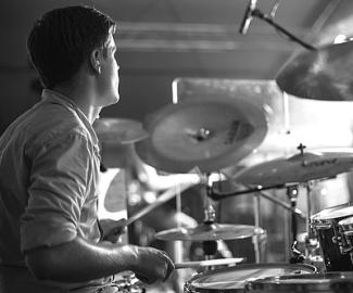 """""""Ob jeder gleich so gut wie ein Schlagzeuger werden könnte, ist noch nicht klar..."""""""