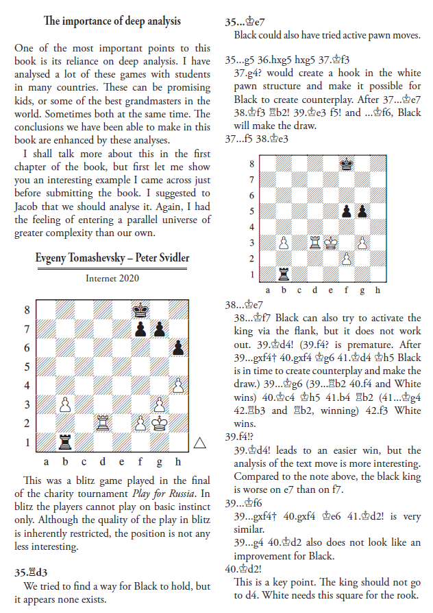 Boris Gelfand - Decision Making in Major Piece Endings - Quality Chess Leseprobe - Chess Review Glarean Magazin