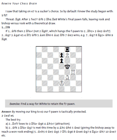 Probeseite aus Cyrus Lakdawala: Rewire Your Chess Brain