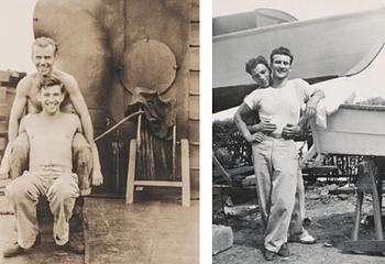 Hugh Nini und Neal Treadwell, Loving - Männer die sich lieben - Beispielseite - Glarean Magazin