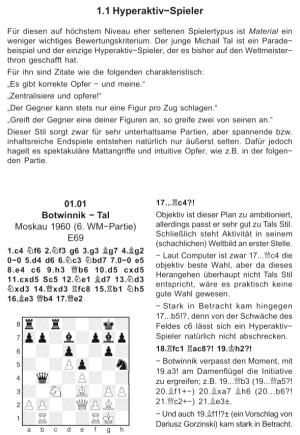 Müller & Engel - Spielertypen im Schach - Leseprobe 2 (Hyper-Aktivspieler) - Glarean Magazin