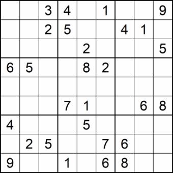 Sudoku Glarean Magazin - sehr schwierig - Januar 2021