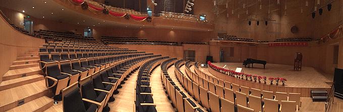 Leerer Musik-Konzertsaal in Corona-Zeiten - Glarean Magazin