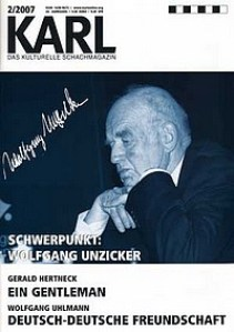 Karl - Das kulturelle Schachmagazin - Nummer 2-2007