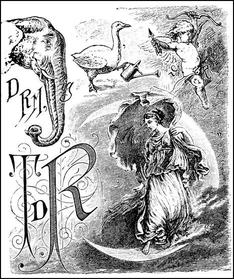 Ein Rebus der anspruchsvolleren Art aus dem 19. Jahrhundert. Gesucht ist einmal mehr ein