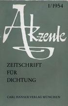 Akzente - Zeitschrift für Dichtung
