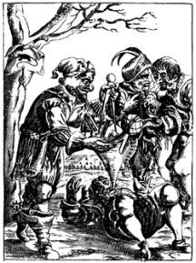 «Poetischer Trichter - Die Teutsche Dicht- und Reimkunst, ohne Behuf der lateinischen Sprache, in VI Stunden einzugießen» (Georg Philipp Harsdörffer, 17.Jh.)