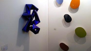 von Braunbehrens | Willi Siber - Wandobjekt blau