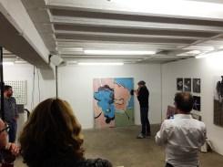 End of life painting session with Luc Palmer and Jürgen Palmer - Schacher Raum für Kunst - Galerienhaus Stuttgart