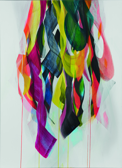 Christine Rath, #1315   Pigment Acryl auf LW   100x140cm   2013 (2)