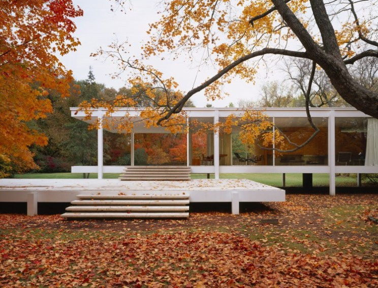 Roland Halbe: Farnsworth House, Plano 2004 (Ludwig Mies van der Rohe)