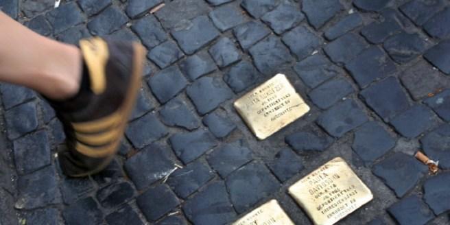 Stolperstein Memorial +++(c) dpa - Bildfunk+++