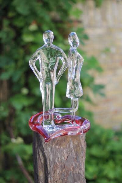 Sculptuur Jonnie en Therese - 25 jaar Restaurant De Librije