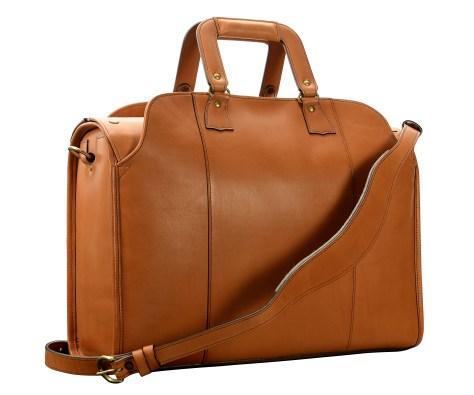 Hand-burnished,-chestnut-Litigation-Deal-Bag;-19-x-13-x-8'-back