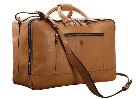 Hand-grained-natural-Square-Duffel;-20-x-13-x-8'