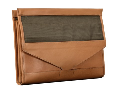 Hand-grained-natural-All-Leather-Flapover-Folderholder-with-dark-olive-green-lining.4