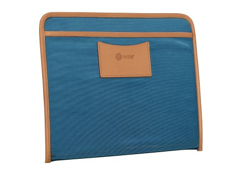 Hand-grained-natural-leather-Padded-Panel-with-california-blue-lining-and-shirt-pocket-organizers