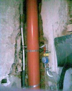 Az új vízvezeték és a vízelvezető