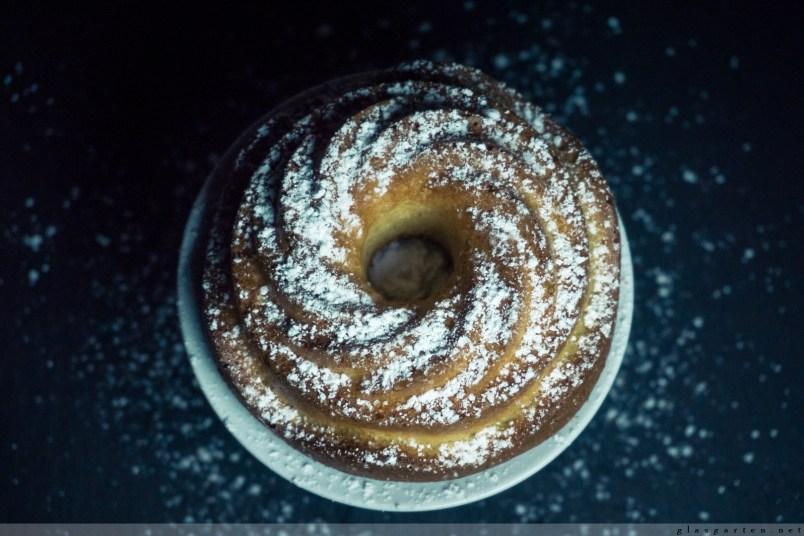 Kuchen, Gugelhupf, Mandelkuchen, Low Carb, ohne Mehl & Zucker, glutenfrei, laktosefrei